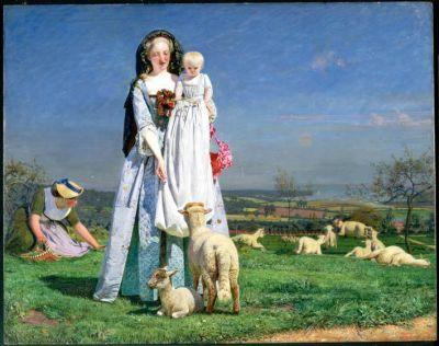 the pretty baa lambs