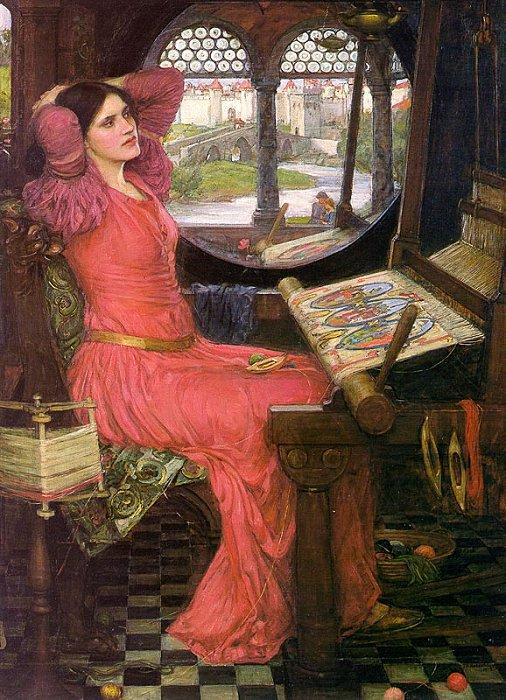 'I am half-sick of shadows', John William Waterhouse