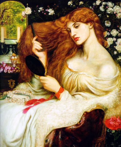 'Lady Lilith', Dante Gabriel Rossetti