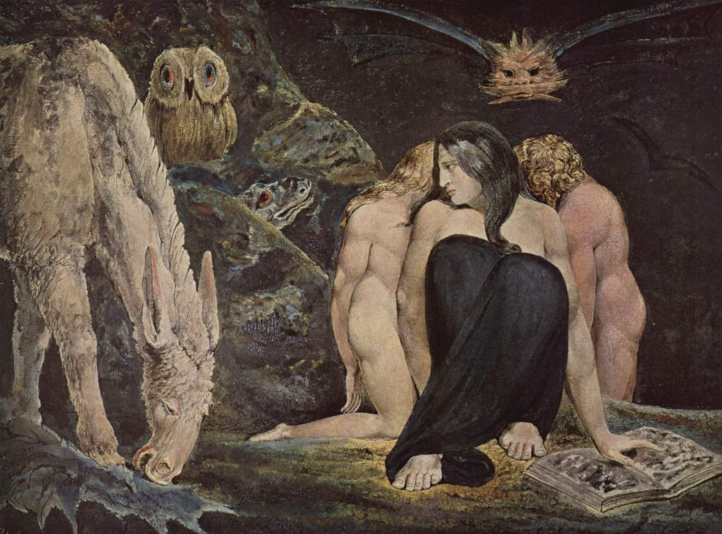 'Hecate', WIlliam Blake (1795)