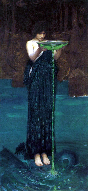 circe invidiosa, waterhouse
