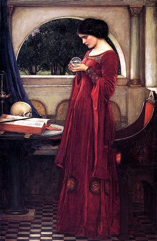 crystal ball, waterhouse