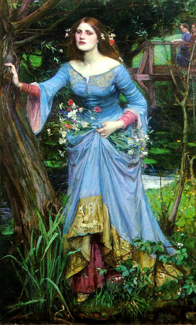 'Ophelia', John William Waterhouse