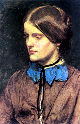 Annie Miller, painted by Millais
