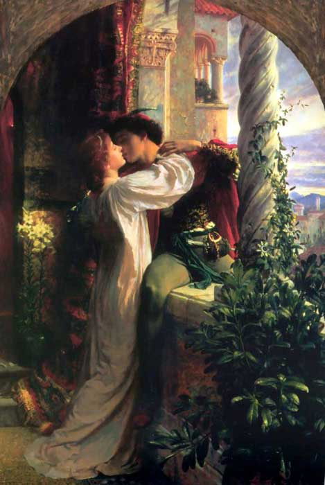 'Romeo and Juliet', Sir Frank Dicksee
