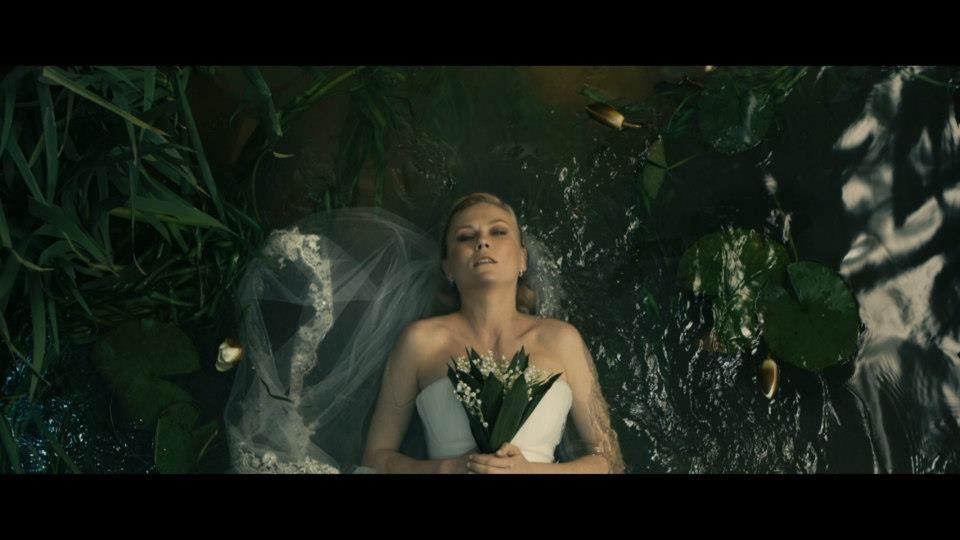 Obvious Ophelia reference in Melancholia