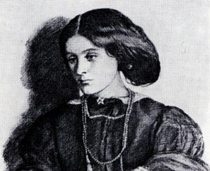 Georgiana Burne-Jones, drawn by Dante Gabriel Rossetti