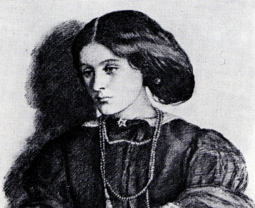 Georgiana Burne-Jones, drawn by Dante Gabriel Rossetti
