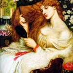 Lady Lilith, painted by Dante Gabriel Rossetti in 1868