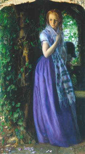 April Love, painted by Arthur Hughes