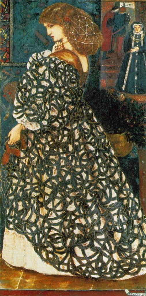 Sidonia von Bork, 1860 by Sir Edward Coley Burne-Jones