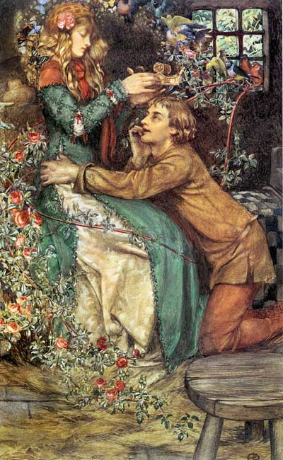 Natural Magic by Eleanor Fortescue Brickdale, previously shared on this site in <a href=
