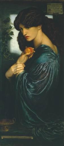 Jane Morris in Dante Gabriel Rossetti's 'Proserpine'