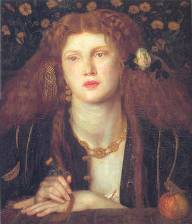 Bocca Baciata, modeled by Fanny Cornforth