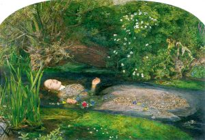 Ophelia, SIr John Everett Millais