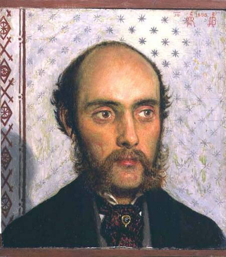 Portrait of William Michael Rossetti by Ford Madox Brown