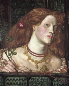 Fanny Cornforth as Fair Rosamund by Dante Gabriel Rossetti