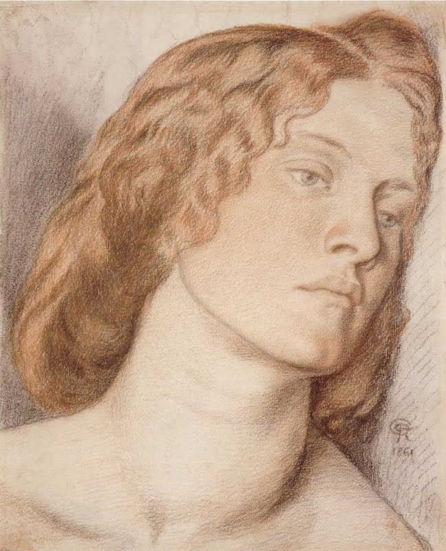 Rossetti, study for Fair Rosamund