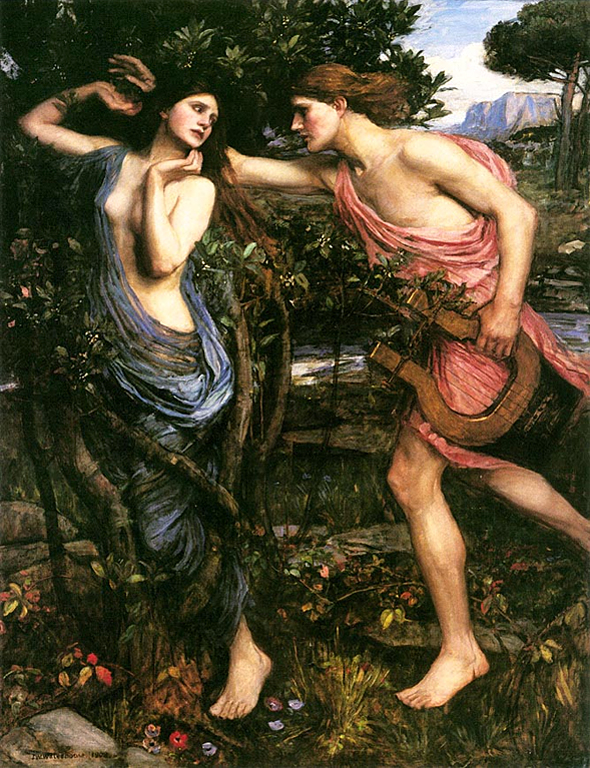 Apollo and Dapne, John William Waterhouse 1908