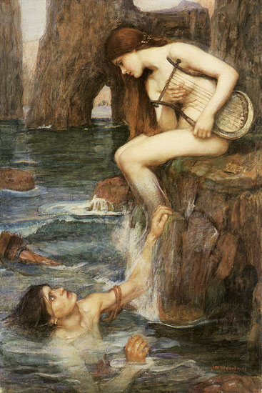 'The Siren', John William Waterhouse