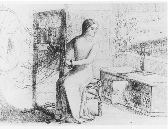 The Lady of Shalott, Elizabeth Siddal