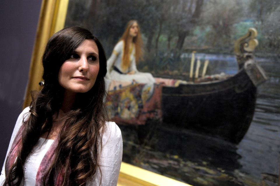 Deborah Rose with The Lady of Shalott