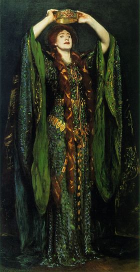 Ellen Terry as Lady Macbeth by John Singer Sargent