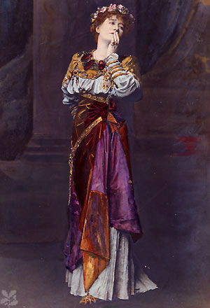 Ellen Terry as Imogen in Shakepeare's Cymbeline