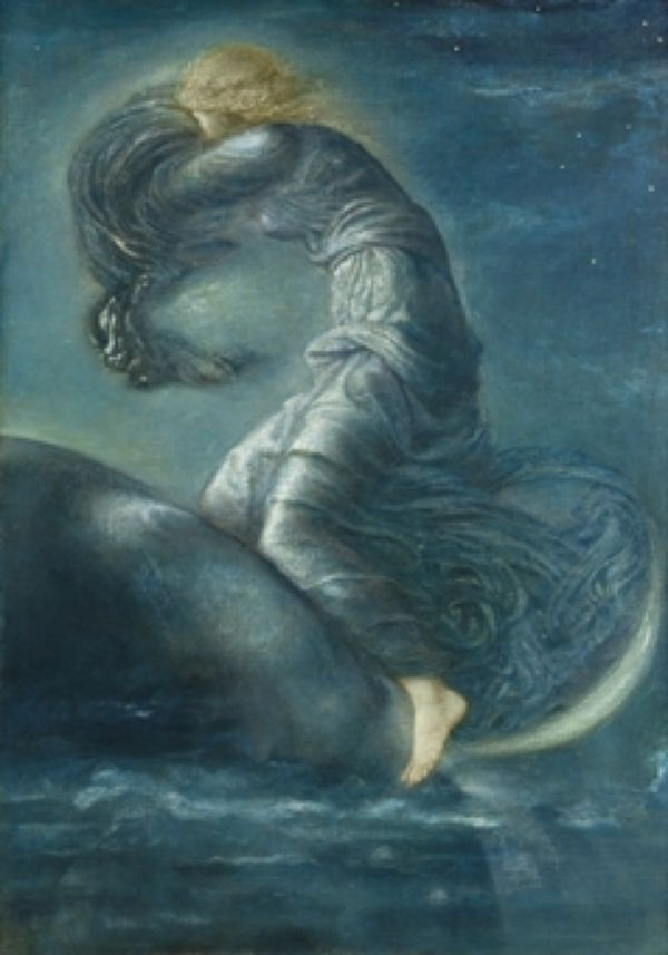 'Luna' by Sir Edward Burne-Jones