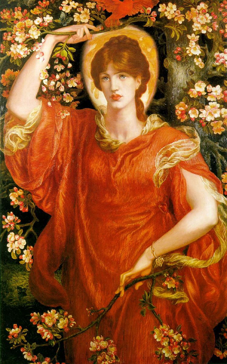 Birds In The Works Of Dante Gabriel Rossetti