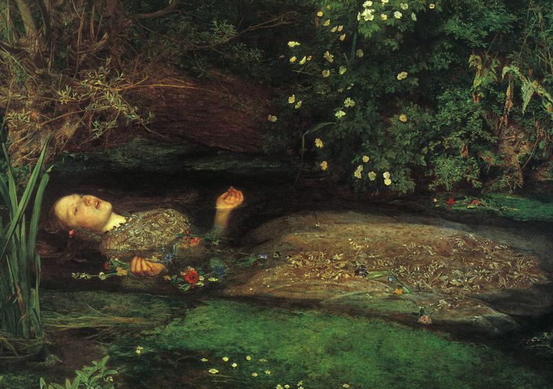 Ophelia-Millais