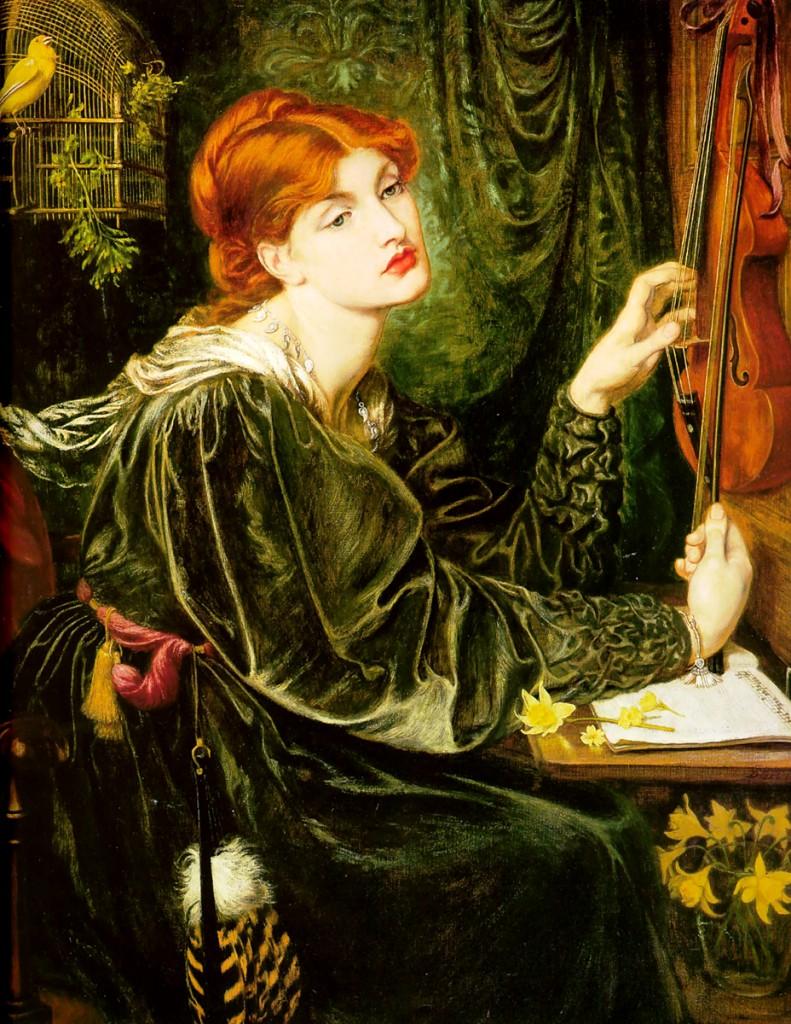 'Veronica Veronese'. Dante Gabriel Rossetti