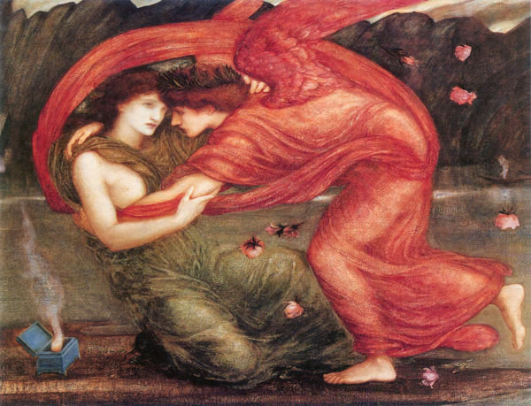 Cupid Delivering Psyche, Sir Edward Burne-Jones