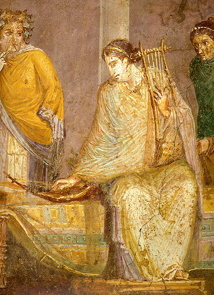 Pompeii_-_Musician_with_Harp_and_Cithara_-_MAN