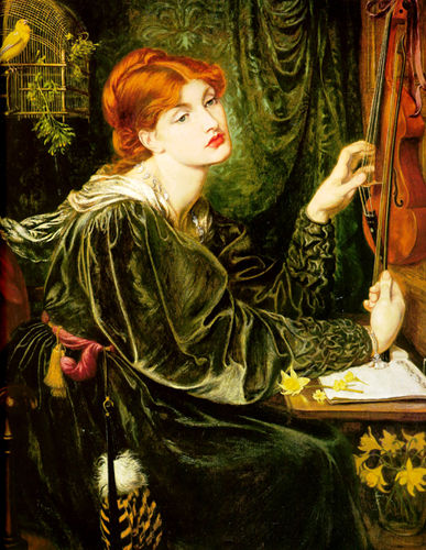 Alexa Wilding in 'Veronica Veronese', Dante Gabriel Rossetti