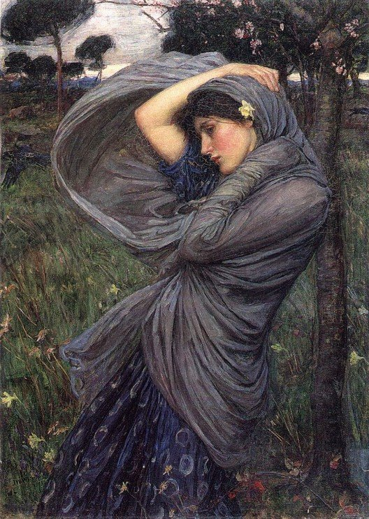 'Boreas', John William Waterhouse