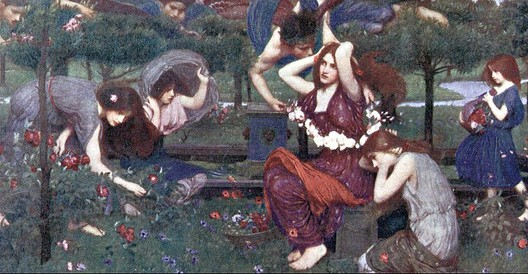 Flora and the Zephys, Waterhouse