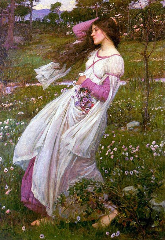 'Windflowers', John William Waterhouse