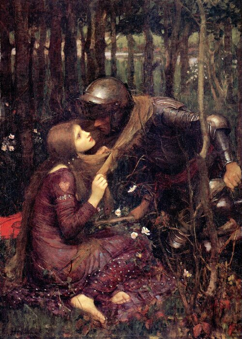 'La Belle Dame sans Merci', John William Waterhouse.