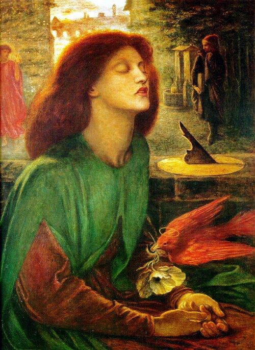 'Beata Beatrix', Dante Gabriel Rossetti
