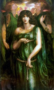Astarte Syriaca, Dante Gabriel Rossetti