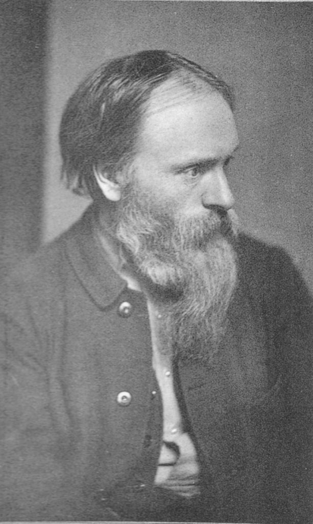 Photograph of Edward Burne-Jones by Frederick Hollyer, circa 1882.