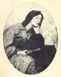 Photograph of Elizabeth Siddal
