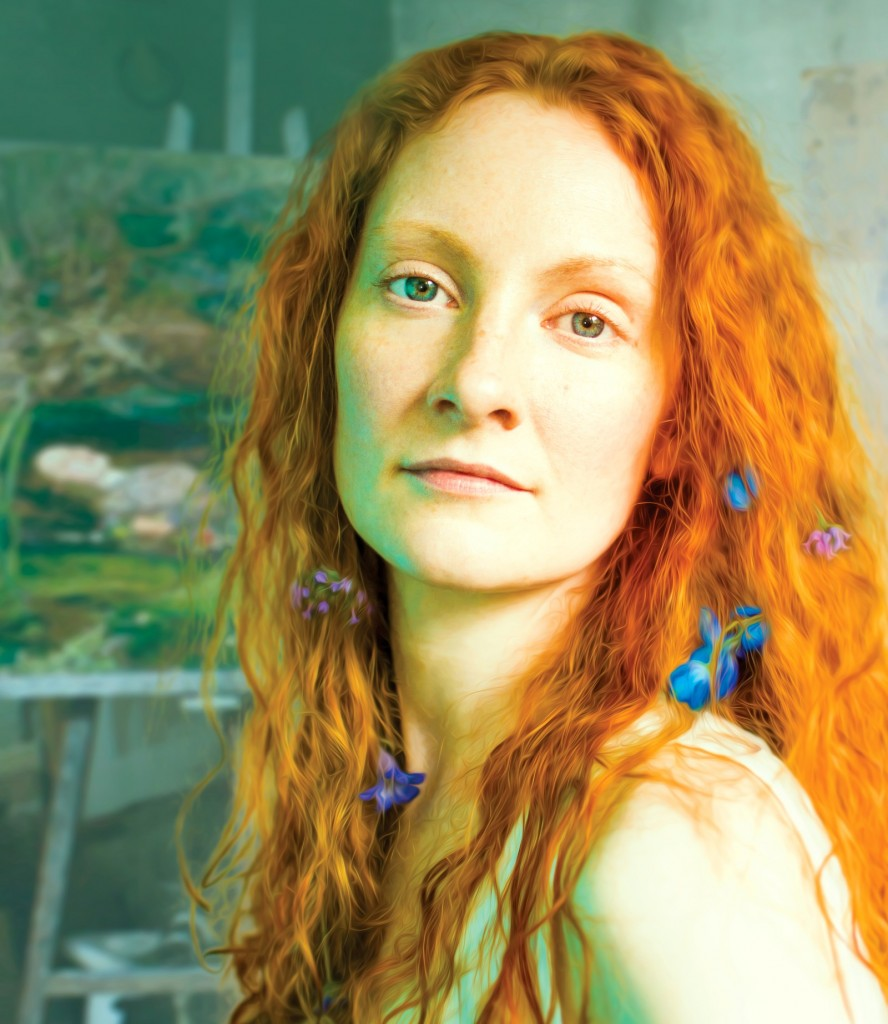 Emma West as Lizzie Siddal. Photo Credit Rebecca Pitt