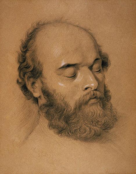 Artist Frederick Shields, 1882