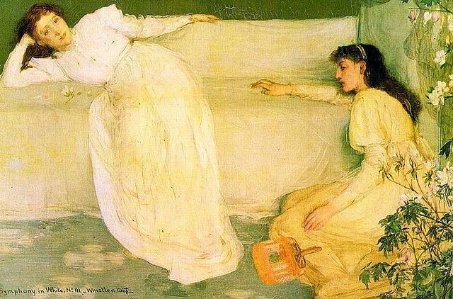Symphony in White, No. 3, James McNeill Whistler