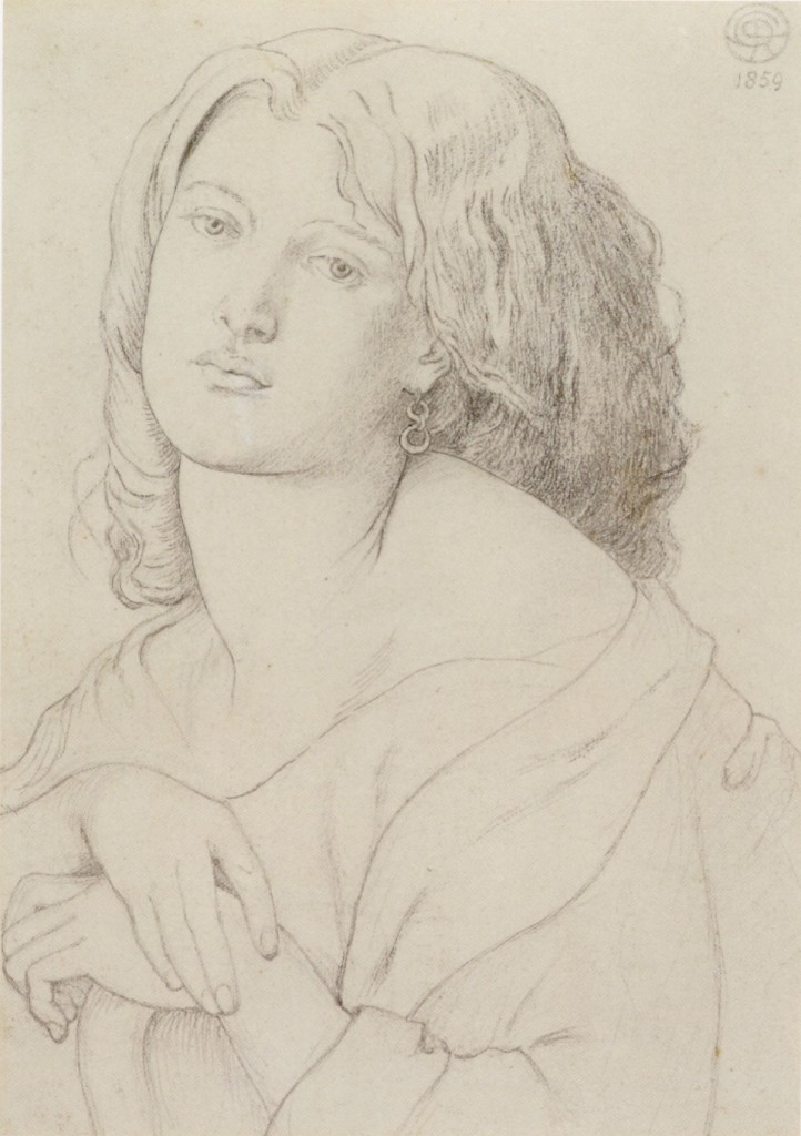 Dante_Gabriel_Rossetti_-_'Fanny_Cornforth',_graphite_on_paper,_1869