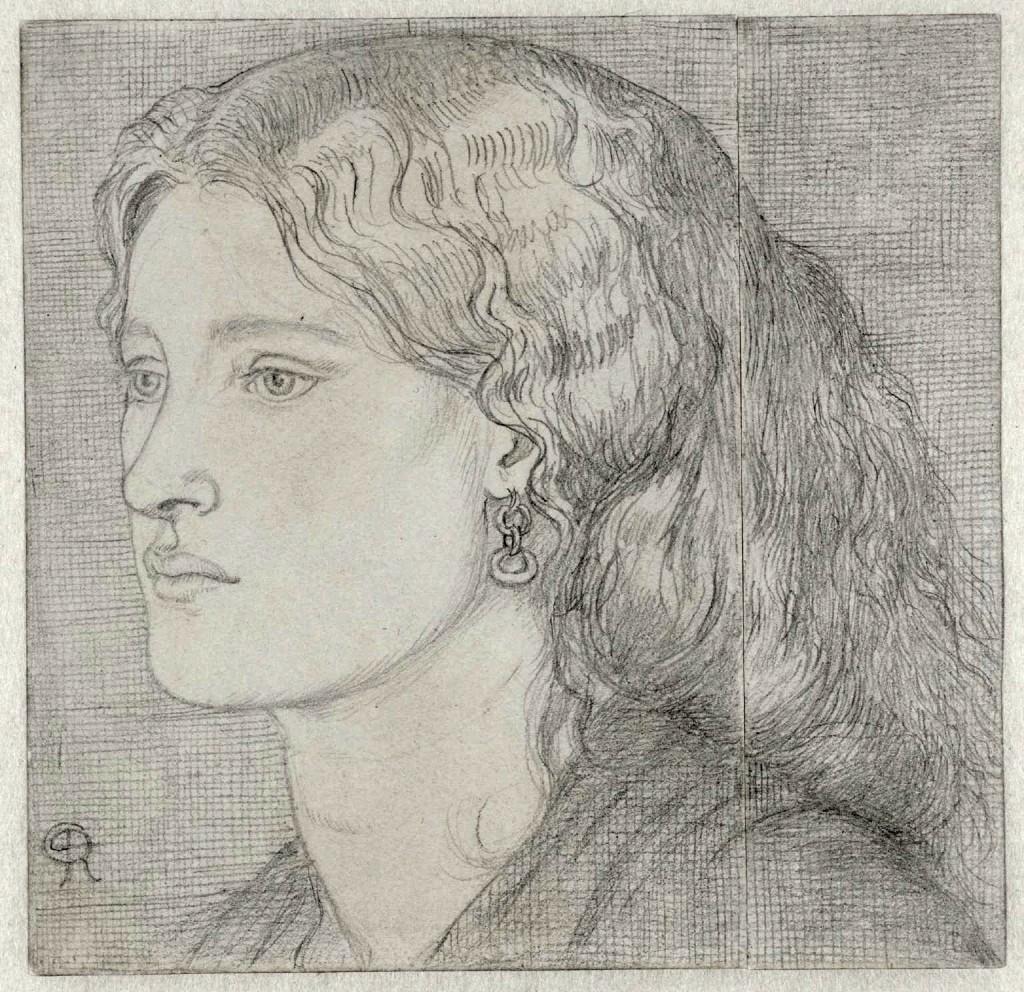 Fanny Cornforth 1859 by Dante Gabriel Rossetti 1828-1882