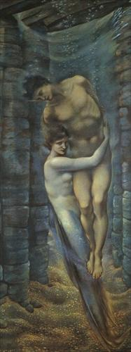 burne-jones depth of the sea