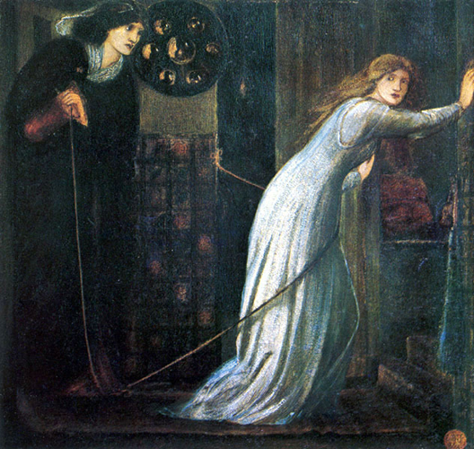 Fair Rosamund and Queen Eleanor, Sir Edward Burne-Jones